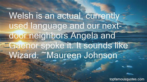 Quotes About Next Door Neighbors