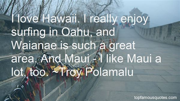 Quotes About Oahu