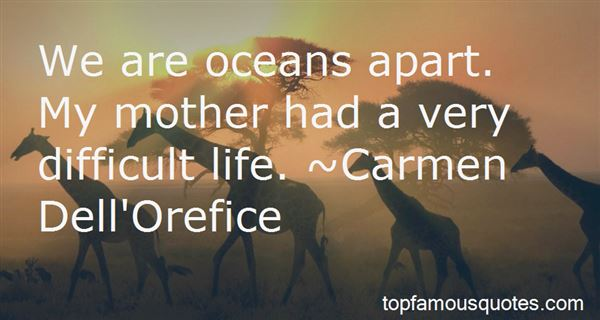 Quotes About Oceans Apart