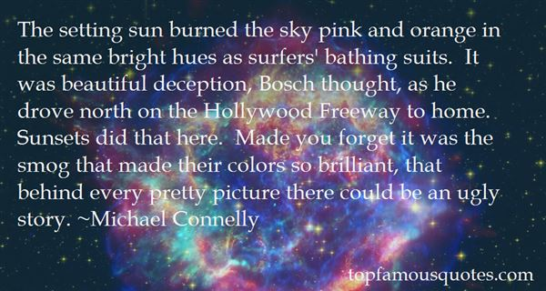 Quotes About Orange Sunsets