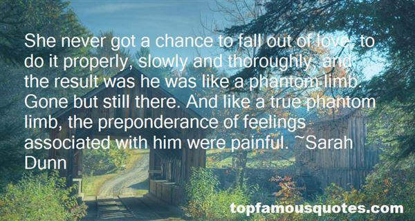Quotes About Phantom Limb Pain