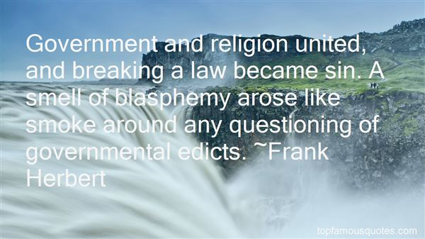 Quotes About Religion And Government