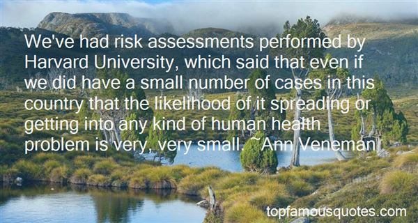 Quotes About Risk Assessment