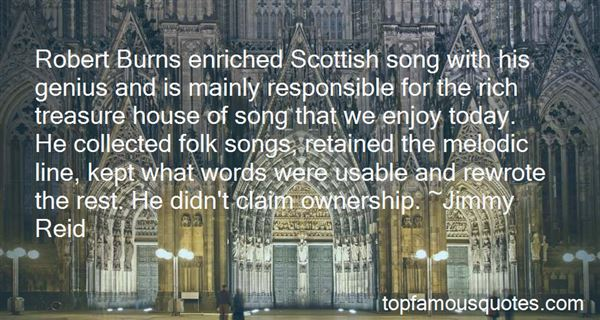 Quotes About Robert Burns
