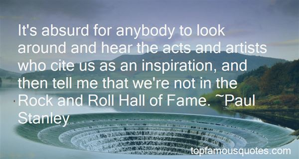 Quotes About Rock And Roll Hall Of Fame