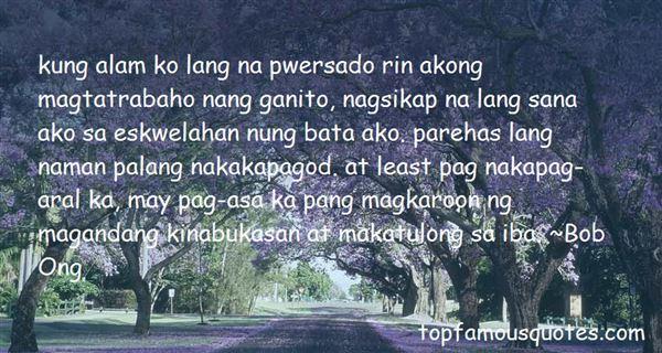 Quotes About Sa Maganda
