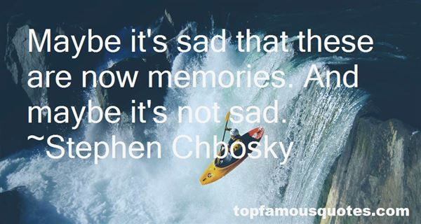 Quotes About Sad Memories