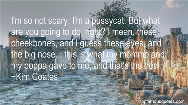 Quotes About Scary Eyes