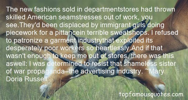 Quotes About Seamstresses