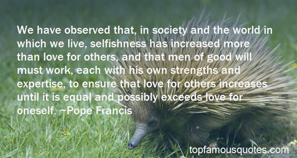 Quotes About Selfishness And Love