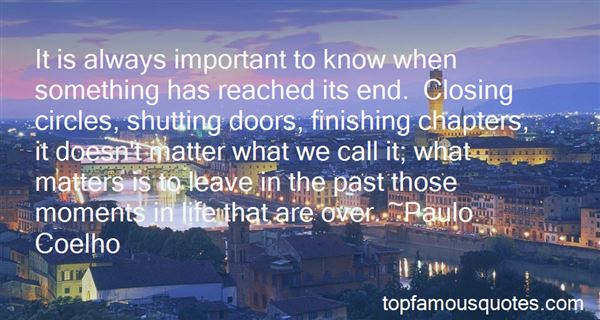 Quotes About Shutting Doors