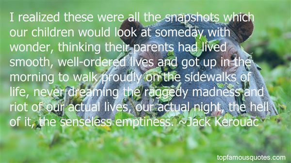 Quotes About Snapshots