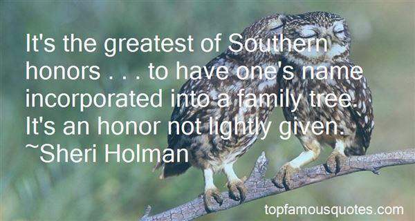 Quotes About Southern Family