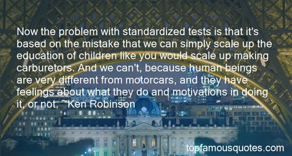 Quotes About Standardized Tests