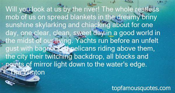 Quotes About Sunshine On Water