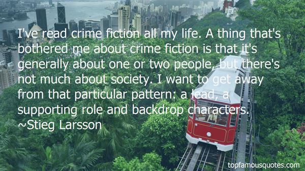 Quotes About Supporting Characters