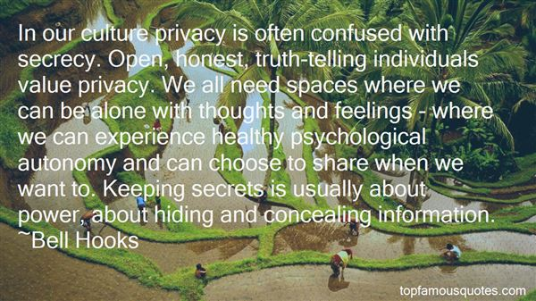 Quotes About Telling Secrets