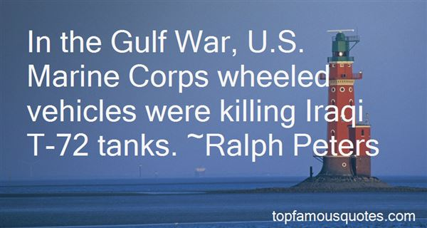Quotes About The Gulf War
