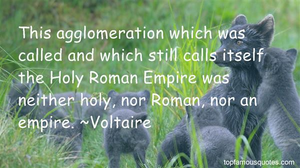 Quotes About The Holy Roman Empire