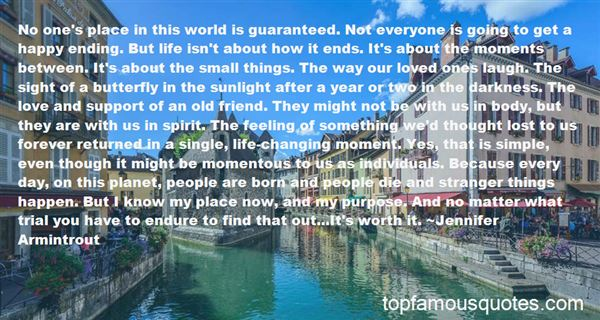 Quotes About Things In Life Changing