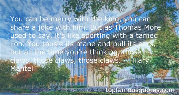 Quotes About Thomas More
