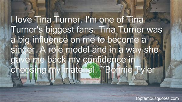 Quotes About Tina Turner