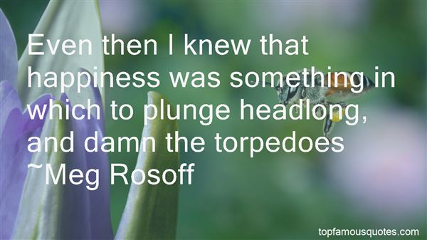 Quotes About Torpedoes