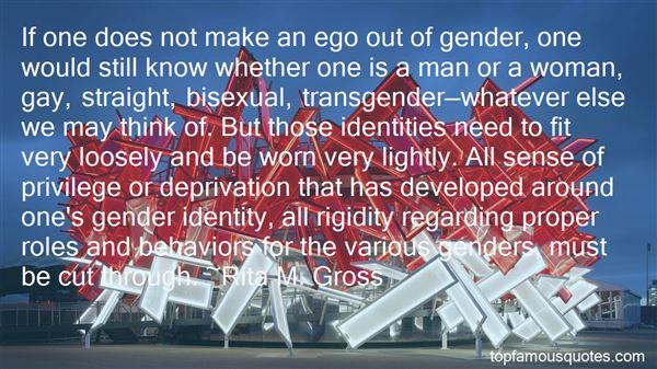 Quotes About Transgender Gender