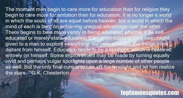 Quotes About Unequal Education