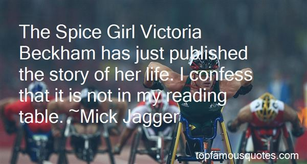 Quotes About Victoria Beckham