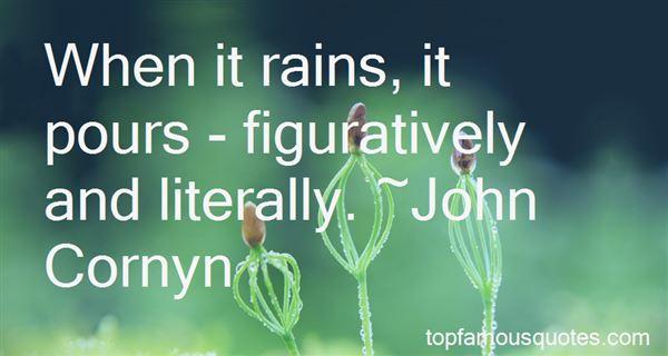 Quotes About When It Rains It Pours