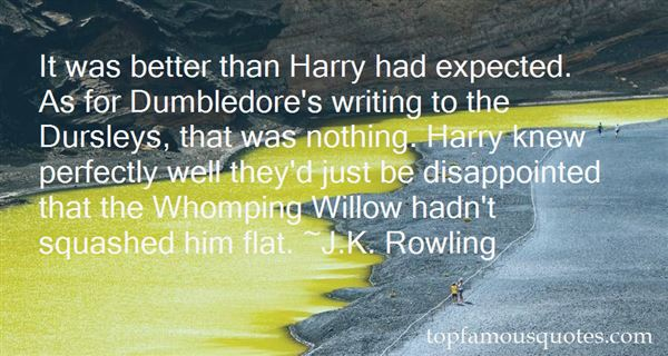 Quotes About Whomping Willow