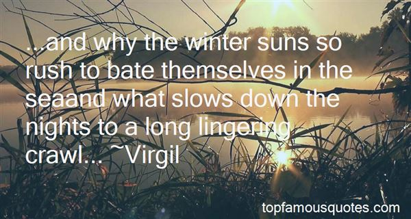 Quotes About Winter Nights