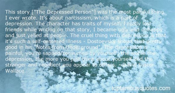 Quotes About Writing And Depression