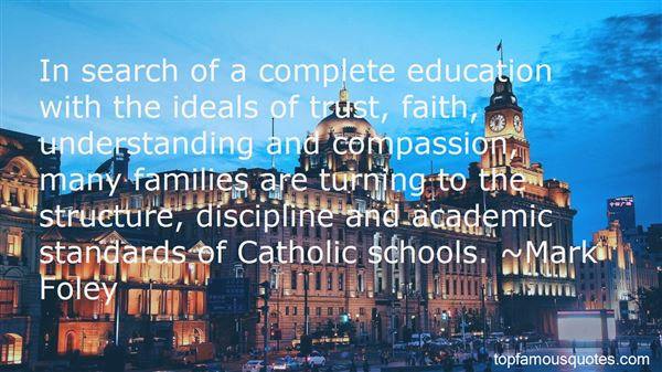 Quotes About A Catholic Education