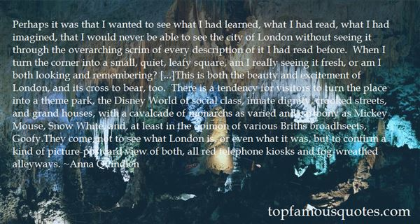 Quotes About A City View
