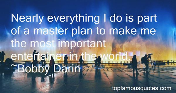 Quotes About A Master Plan