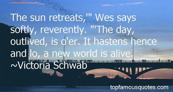 Quotes About A New World