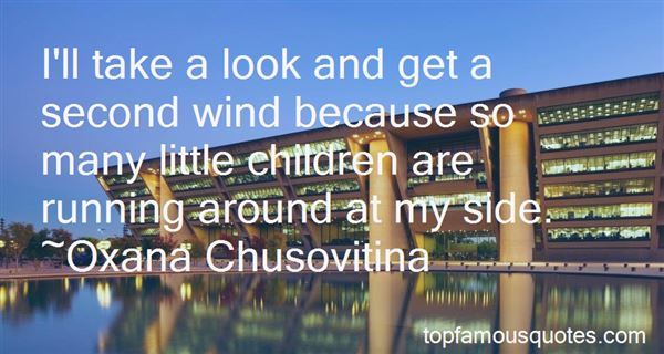 Quotes About A Second Wind