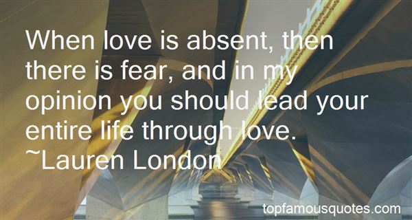 Quotes About Absent Love