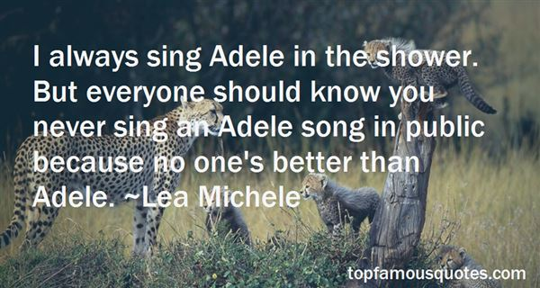 Quotes About Adele Varens