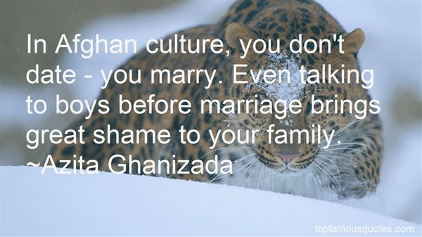 Quotes About Afghan Culture