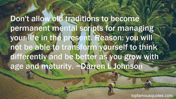 Quotes About Age And Maturity