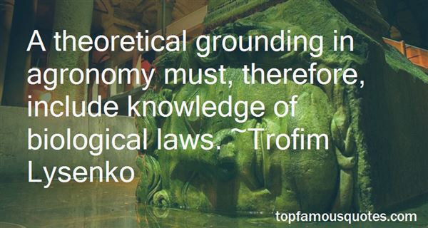Quotes About Agronomy