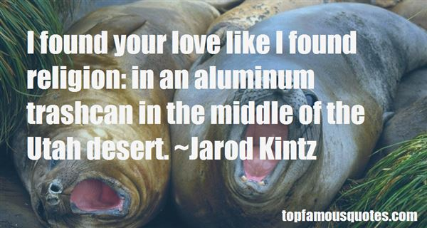 Quotes About Aluminum