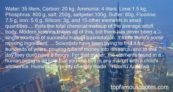 Quotes About Ammonia