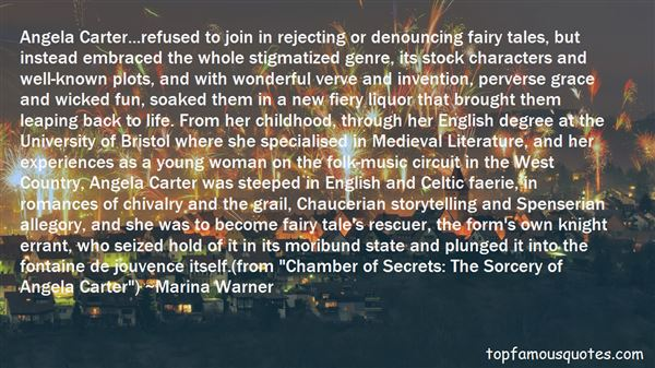 Quotes About Angela Carter