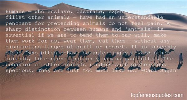 Quotes About Animal Behavior