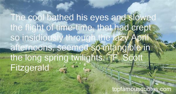 Quotes About Anticipating Spring