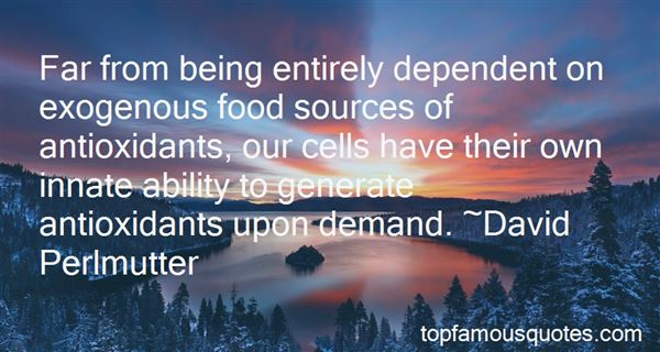 Quotes About Antioxidants